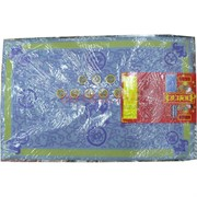 Денежный коврик голубой 78x49 см