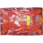 Денежный коврик красный 78x49 см