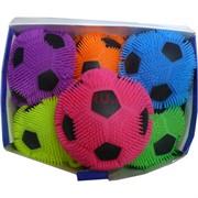 Игрушка ежик светящийся «футбольный мяч» 20 см 6 шт/уп