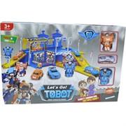 Трансформер игра Let's Go Tobot 34x42 см