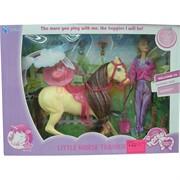 Кукла и лошадка My Little Horse
