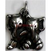 Амулет индийский «2 слоника»