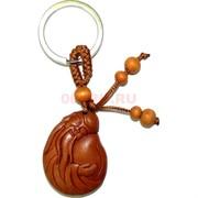 Брелок деревянный «Шоу Син с персиком»
