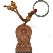 Брелок деревянный «Будда в позе лотоса»