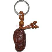 Брелок деревянный «Будда с четками»