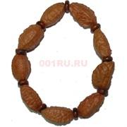 Браслет индийский «бразильский орех в кожуре»
