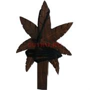 Курительная трубка деревянная «лист»