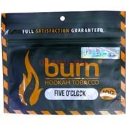 Табак для кальяна Burn 100 гр «Five O'Clock»