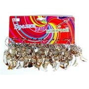 Брелок Клык окантовка металл цена за 120 шт