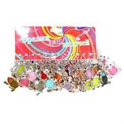 Брелок Лягушка цветная (KL-052) цена за 120 шт