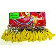 Брелок резиновый (KL-926) банан 120 шт/уп