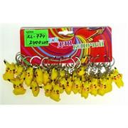 Брелок резиновый (KL-674) Покемон цена за 120 шт