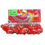 Брелок резиновый (KL-937) Тачки цена за 120 шт