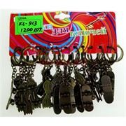 Брелок металлический (KL-913) скейты цена за 120 шт