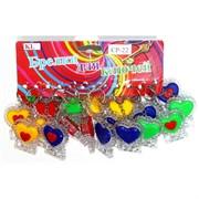 Брелок светящийся (CP-22) сердце цена за 120 шт