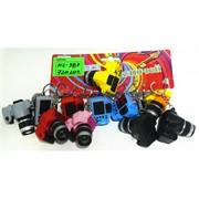 Брелок фонарик (KL-987) фотоаппарат цена за 60 шт (со звуком)