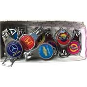 Брелок-кусачки с логотипами авто 12 шт/уп
