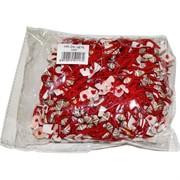Браслет с красной ниткой с ракушками цена за 100 шт