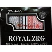 Карты пластиковые 2 шт/уп Royal.ZRG