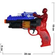 Пистолет игрушечный «Спайдермен» свет звук
