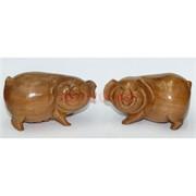 Свинки деревянные пара 2 размер