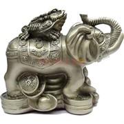 Жаба на слоне 13 см