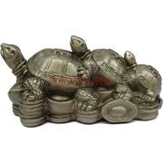Три Черепахи Фу Лу Шу 15 см длина