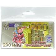Магнит символ 2019 года Свинья «200 евро»
