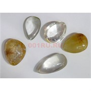 Кулоны из кварца-волосатика разной формы (цена за 10 гр)