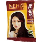 Хна для волос Neha Burgundy 20 г (бургунди)