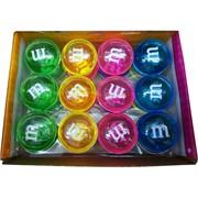 Лизун мялка M&M's прозрачный 12 шт/уп
