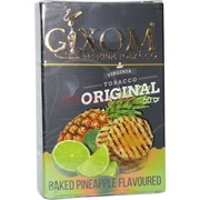 Табак для кальяна GIXOM 50 гр «Baked Pineapple»