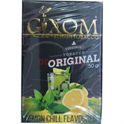 Табак для кальяна GIXOM 50 гр «Lemon Chill»