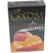 Табак для кальяна GIXOM 50 гр «Mango»
