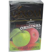 Табак для кальяна GIXOM 50 гр «Two Apples»
