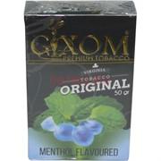 Табак для кальяна GIXOM 50 гр «Menthol»