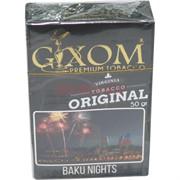 Табак для кальяна GIXOM 50 гр «Baku Nights»