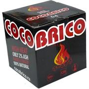 Кокобрико XL уголь для кальяна 64 кубика кокосовый