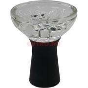 Чашка кальнная силикон + стекло под калауд