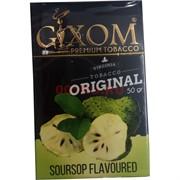 Табак для кальяна GIXOM 50 гр «Soursop»