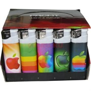 Зажигалка Profit «яблоко эппл» 50 шт/уп