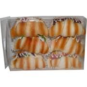 Сквиши «круассаны с колбасой» 6 шт/уп