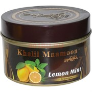 "Табак для кальяна Khalil Mamoon 250 гр ""Lemon Mint"" (USA) мята"