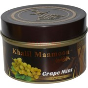 "Табак для кальяна Khalil Mamoon 250 гр ""Grape Mint"" (USA) мята"