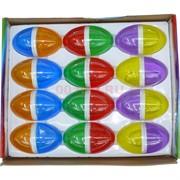 Лизун мялка Яйцо двухцветное 12 шт/уп