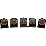 Буддийские символы с липучкой