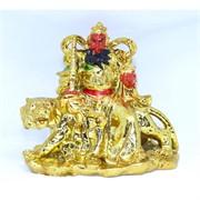 Бог богатства на тигре под золото