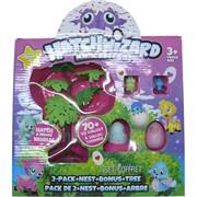 Hatchwizard 2 яйца, 2 игрушки и дерево