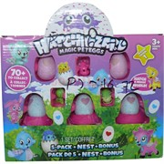 Hatchwizard Хэтчималс 5 яиц, гнездо, игрушки (PJ-16)