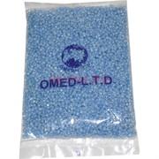 Бисер №6 (3,6 мм) голубой №183С крашеный внутри 450 грамм